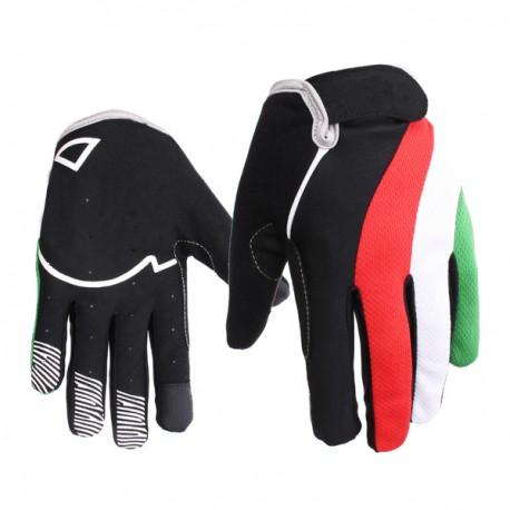 Outdoor Windproof Full Finger Racing Cycling Mountain Bike Touch Screen Gloves