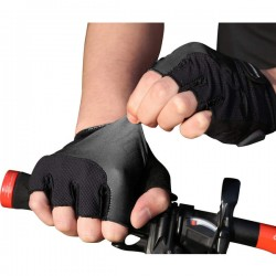 New Custom cycling gloves Mountain Bike Road Racing bicycle gloves half finger man