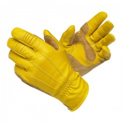High quality cowhide Leather heavy duty Work Gloves durable mechanic work gloves