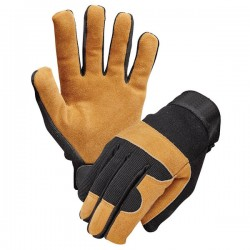 High quality breathable Split Leather Work Gloves