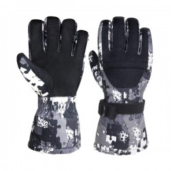 Super Warm snow ski gloves Windproof Water Resistant winter gloves