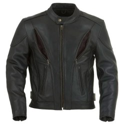 Spencer Panther Classic Leather Motorcycle Jacket