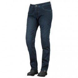 Women's Blue Armored Moto Jeans