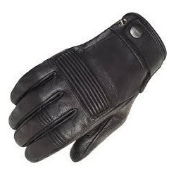 Men's Black Leather Gloves