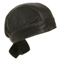 Unisex Perforated Skull Cap