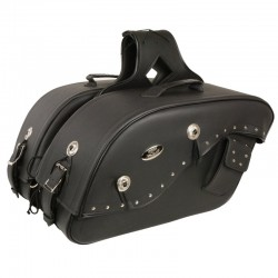 Medium Cruiser Style Saddle Bag