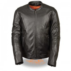 Men's Vented Scooter Jacket w/ Kidney Padding