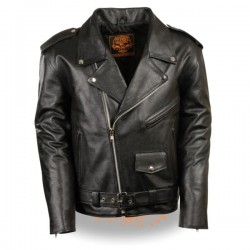 Men's Classic Police Style M/C Jacket