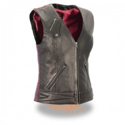 Women's Lightweight Snap Front Vest