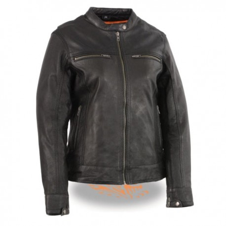 Women's Lightweight Triple Stitch Scooter Jacket