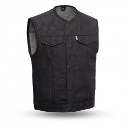 Men's Motorcycle Denim Vest