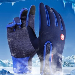 Outdoor Windproof Thermal Winter Warm Touchscreen Gloves