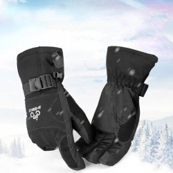 Men's Ski Gloves Fleece Snowboard Gloves Snowmobile