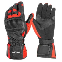 Touchscreen Motorbike Waterproof Motorcycle Biker Racing Gloves with Carbon Fiber Knuckle