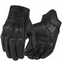 Knuckle Protection Best Cold Weather Leather Motocross Motorcycle Gloves