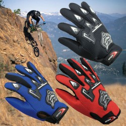 Bicycle Riding Gloves Simple and Comfortable Motorcycle Full Finger Gloves Breathable Sports Hand Racing Gloves