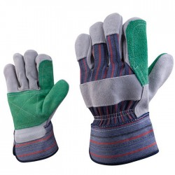 Cut Resistant Leather Safety Workers Working Gloves