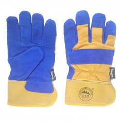 Full Palm Leather Working Gloves with Thinsulate Full Lining