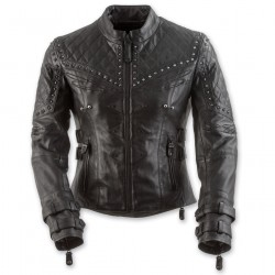 Women's Panther Black Leather Jacket