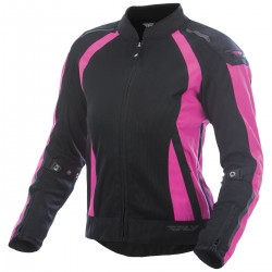 Panther Street Women's Cool Black/Pink Mesh Jacket