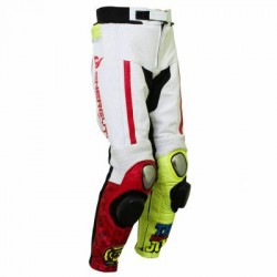 ANDREA IANNONE DUCATI LEATHER MOTORCYCLE RACING PANTS