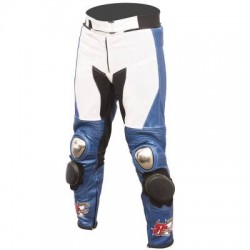 BMW EASY RIDE LEON HASLAM MOTORBIKE LEATHER PANTS