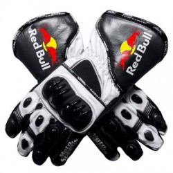 RED BULL RACING GLOVES MOTORCYCLE