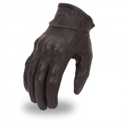 Mens lightweight fully perforated glove